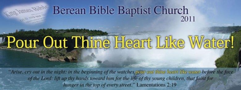 Berean Bible Baptist Church 2011